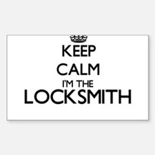 Keep calm I'm the Locksmith Decal