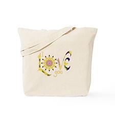 I Love You - Omm Tote Bag
