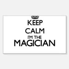 Keep calm I'm the Magician Decal