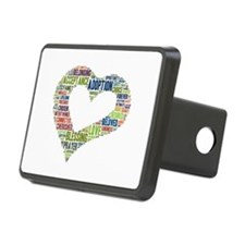 heart fulfilled Hitch Cover