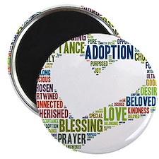 "heart fulfilled 2.25"" Magnet (100 pack)"