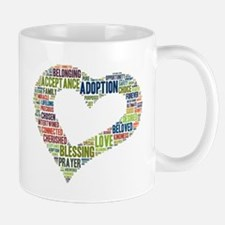 heart fulfilled Mug