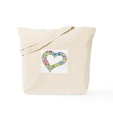 heart fulfilled Tote Bag