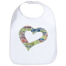 heart fulfilled Bib