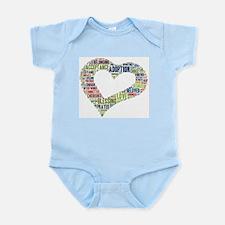 heart fulfilled Infant Bodysuit