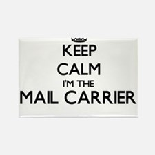 Keep calm I'm the Mail Carrier Magnets