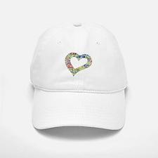 heart fulfilled Baseball Baseball Cap
