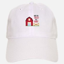 Raised In A Barn Baseball Baseball Baseball Cap