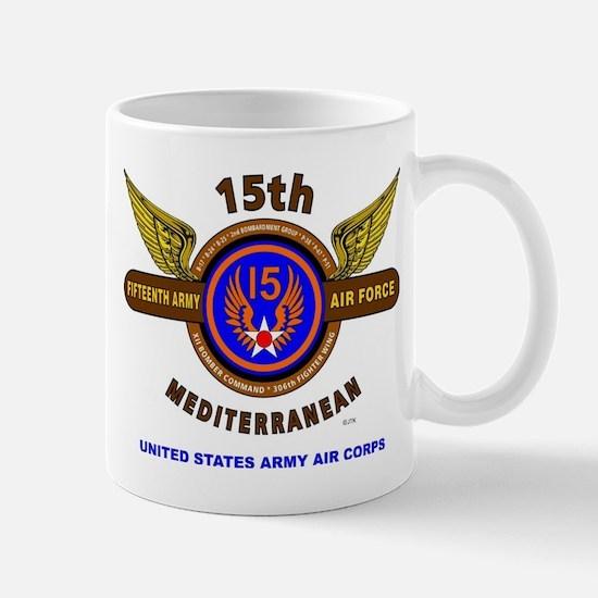 15TH ARMY AIR FORCE* ARMY AIR CORPS* WO Mug