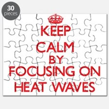 Keep Calm by focusing on Heat Waves Puzzle