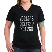 World's Okayest Writer Shirt