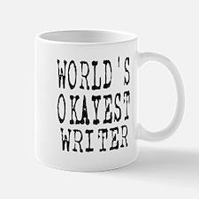 World's Okayest Writer Mug