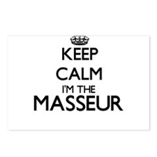 Keep calm I'm the Masseur Postcards (Package of 8)