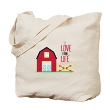 I Love Farming Tote Bag