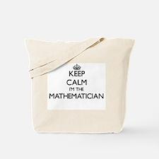 Keep calm I'm the Mathematician Tote Bag