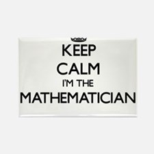 Keep calm I'm the Mathematician Magnets