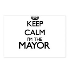 Keep calm I'm the Mayor Postcards (Package of 8)