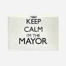 Keep calm I'm the Mayor Magnets