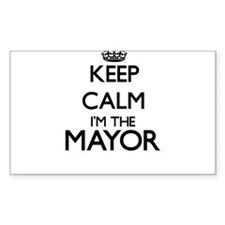 Keep calm I'm the Mayor Decal