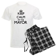 Keep calm I'm the Mayor pajamas