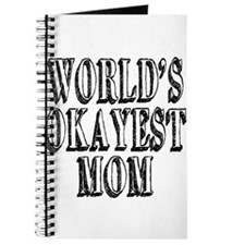 World's Okayest Mom Journal