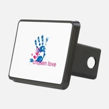 i'll hold your hand Hitch Cover