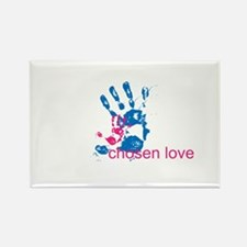 i'll hold your hand Rectangle Magnet