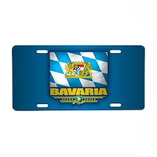 Bavaria Aluminum License Plate