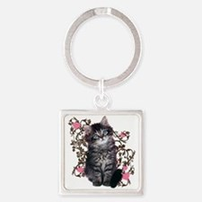 Cute Kitten Kitty Cat Lover Keychains