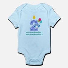 2nd Birthday Infant Bodysuit