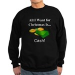 Christmas Cash Sweatshirt (dark)