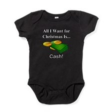 Christmas Cash Baby Bodysuit