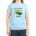 Christmas Cash Women's Light T-Shirt