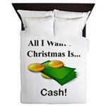 Christmas Cash Queen Duvet
