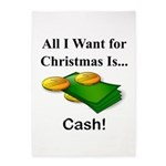 Christmas Cash 5'x7'Area Rug