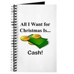 Christmas Cash Journal