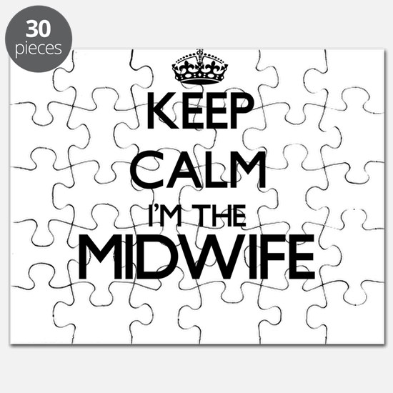 Keep calm I'm the Midwife Puzzle