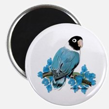 Blue Masked Lovebird Magnet