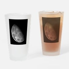 Moon by Galileo Spacecraft Drinking Glass