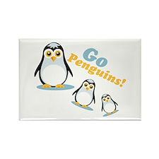 Go Penguins! Magnets