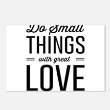 Do Small Things with Great Love Postcards (Package