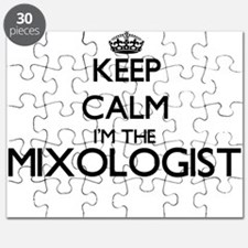 Keep calm I'm the Mixologist Puzzle