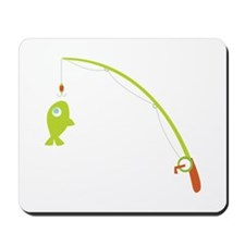 Go Fishing! Mousepad