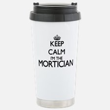 Keep calm I'm the Morti Stainless Steel Travel Mug