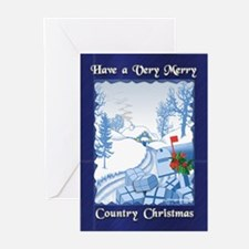Country Christmas Greeting Cards (Pk of 10)
