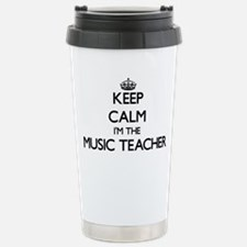 Keep calm I'm the Music Travel Mug