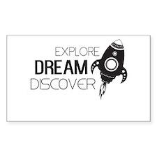 Explore Dream Discover Decal