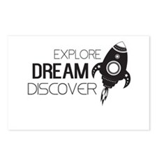 Explore Dream Discover Postcards (Package of 8)