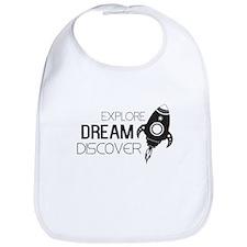 Explore Dream Discover Bib