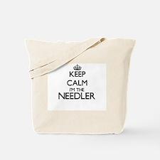 Keep calm I'm the Needler Tote Bag